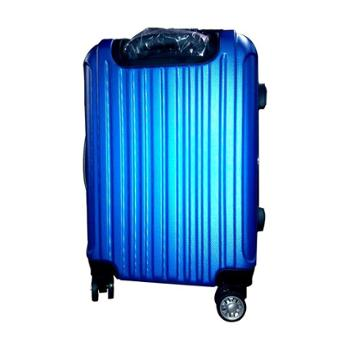 维仕蓝wissblue 20寸ABS蓝色拉杆箱A900536
