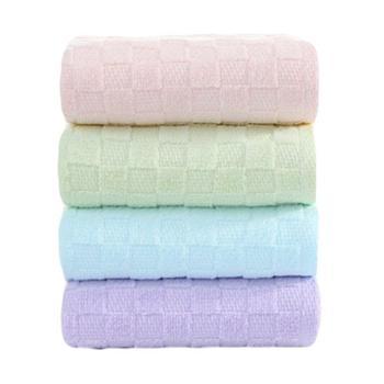三利精梳棉浴巾2条特惠装JS312-2