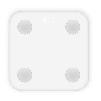 小米(MI)体脂秤白色 体重秤 智能体脂秤