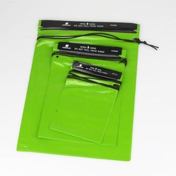 特价包邮吉岩户外防水袋三件套苹果4/5S手机相机防水套大中小漂流游泳袋