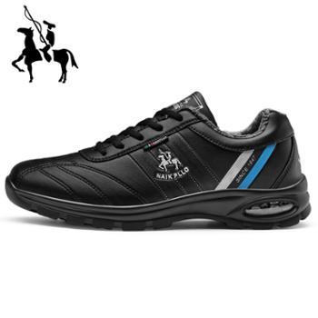 保罗2019款休闲运动鞋男士保暖内里旅游鞋男士休闲运动鞋跑步鞋