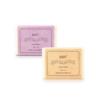 BBV澳洲组合皂山羊奶皂120g1个BBV薰衣草皂120g1个