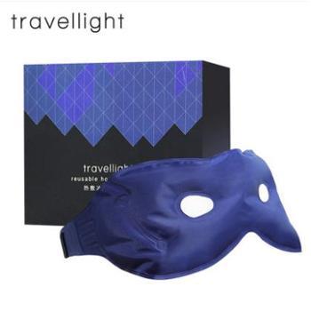 Travellight夏季透气眼罩 冷热敷冰敷睡眠冰袋眼袋睡觉男女遮光
