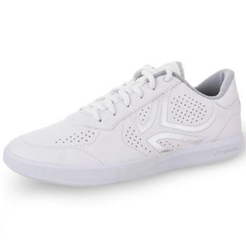 迪卡侬 户外运动 排球鞋 夏季休闲透气低帮男女小白鞋 白色网球鞋 情侣鞋 男女通用 包邮