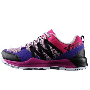 特步 户外运动 越野跑鞋 春夏新款减震防滑耐磨女越野跑鞋登山鞋女徒步鞋 包邮
