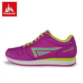 ONEPOLAR/极地 徒步鞋女夏季运动户外鞋男女款轻防滑情侣登山鞋
