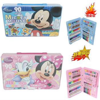 迪士尼文具礼盒水彩笔套装儿童文具90美劳派绘画礼盒学习用品6902