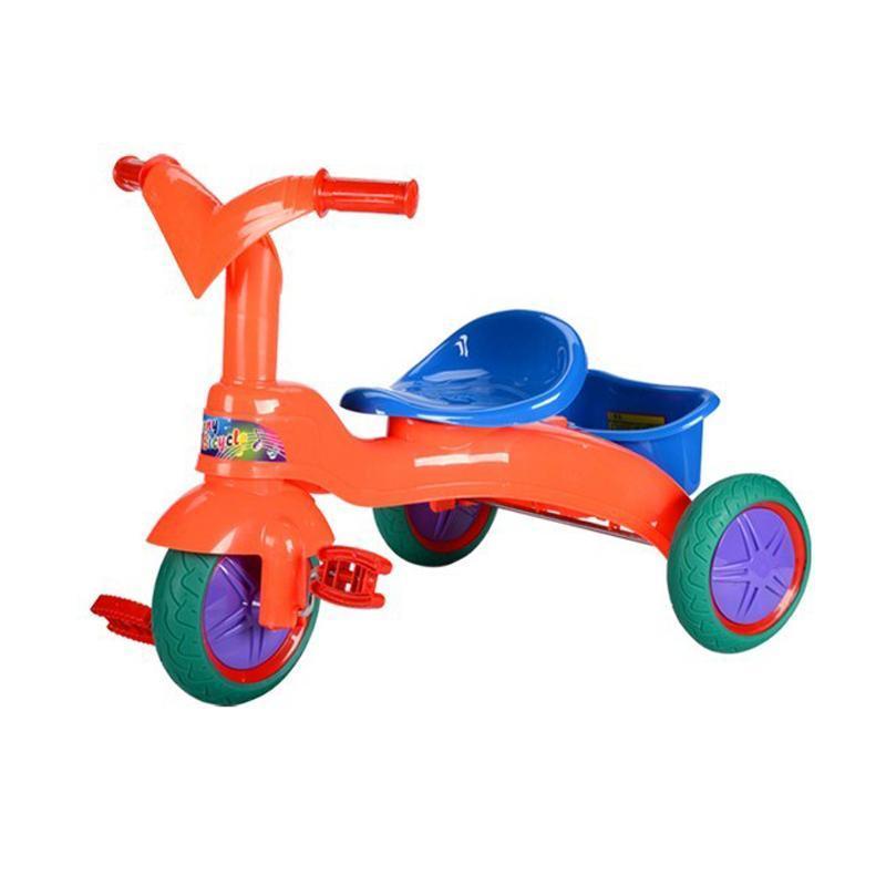 儿童三轮车 宝宝三轮脚踏车童车小孩户外运动自