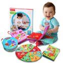 费雪 布书婴儿早教书宝宝儿童撕不烂玩具0-1岁