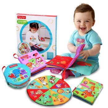 费雪布书婴儿早教书宝宝儿童撕不烂玩具0-1岁