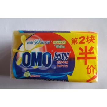 奥妙洗衣皂99超效洗衣皂强效去污易漂清206g*2