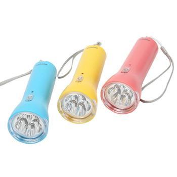 欧普特 充电式LED手电筒8203 家用小手电筒 户外露营便携应急灯