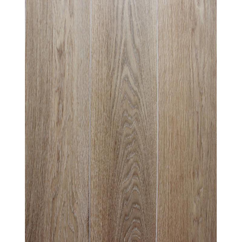 柞木本色白纹理实木复合地板
