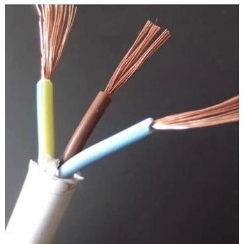 电线电缆三层绝缘铜芯软电线电源线纯铜