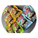 园康龙 味爱吃狂大礼包 四粒红(蒜、咸、奶)110g*6袋+盐焗花生130g*2袋