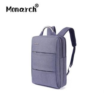 【仅限线下活动,线上拍下不予发货】Monarch新款时尚双肩背包男背包商务电脑包旅行背包潮