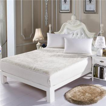 罗莱雅 羊毛床垫加厚床褥子垫背被床上用品 单双人垫被 VI-DB903