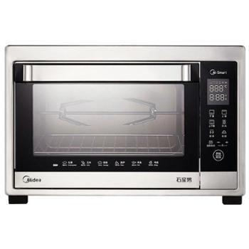 Midea/美的 全自动烘焙 智能家用多功能电烤箱 T7-389D