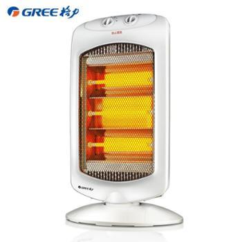 格力取暖器家用小太阳远红外电暖器节能省电速热立式摇头烤火炉