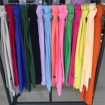 下游采购戎立特新秋款羊绒羊毛围巾多色可选DSL500DX