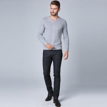 戎立特新款男士时尚羊绒衫DN5610