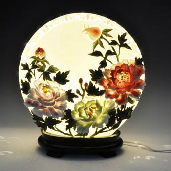 陶瓷工艺品结婚礼物创意家居装饰品生日礼物时尚新房摆件mh007