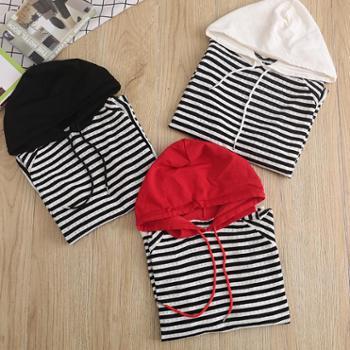 锦昂新款女士镂空带帽针织衫JA3003