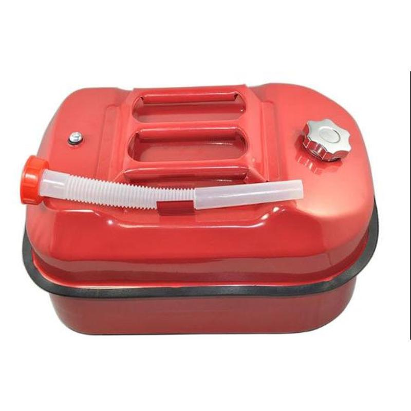 正品10l便携式汽油桶汽车备用油箱10升卧式油桶