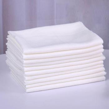 乐竹家纺婴儿纱布尿布5条装竹纤维纱布尿布竹纤维婴儿尿布透气防臭吸水抗菌抑菌