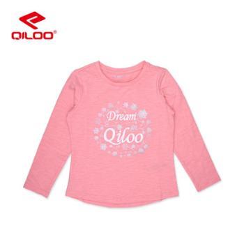 Qiloo童装儿童休闲T恤