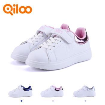 qiloo奇鹭小白鞋童鞋