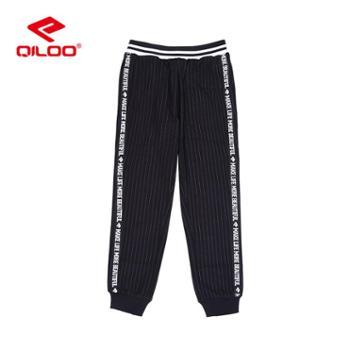 Qiloo童装儿童时尚休闲运动裤