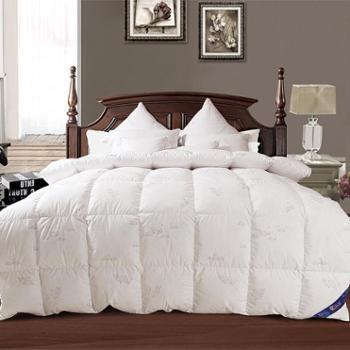 一朵绒酒店专用羽绒被白鹅绒片被子加厚保暖秋冬被芯