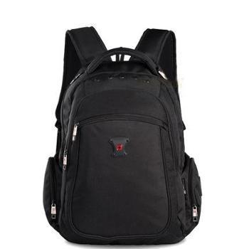 SWISSWIN瑞士十字电脑包商务休闲双肩包男女书包旅行背包SW8563