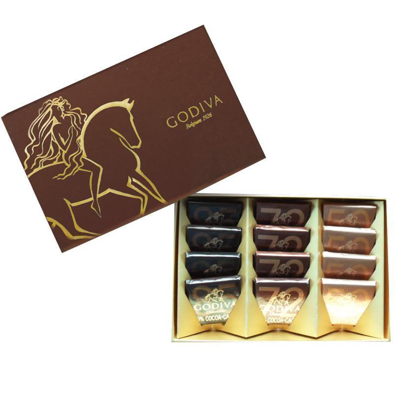 godiva歌帝梵特渠巧克力片礼盒-12片