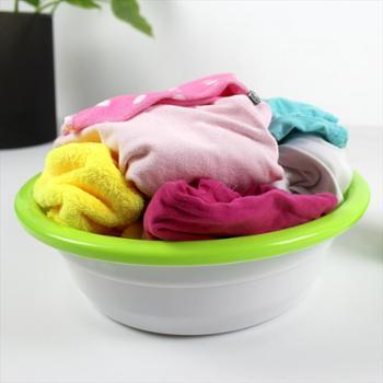 RUIYI 锐益 双色加厚大脸盆 洗衣裝菜 加宽盆沿 精工细作塑料盆