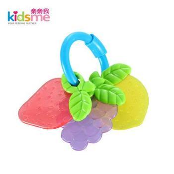 亲亲我新生儿玩具宝宝益智玩具婴儿摇铃玩具水果手摇铃9451