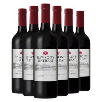 澳洲奔富洛神山庄赤霞珠干红葡萄酒红酒750ml*6建发酒业