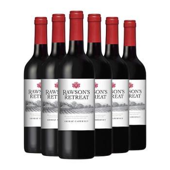 建发酒业进口红酒奔富洛神山庄设拉子赤霞珠红葡萄酒750ml*6支
