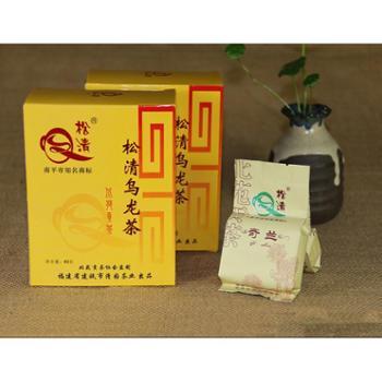 松清茶业大红袍礼盒武夷岩茶大红袍茶叶乌龙茶花香型大红袍,盒80g