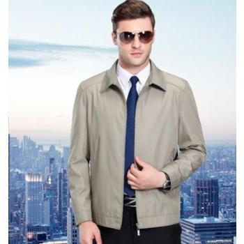 【新款包邮】2017春季新款男装男士夹克外套修身翻领男式夹克衫