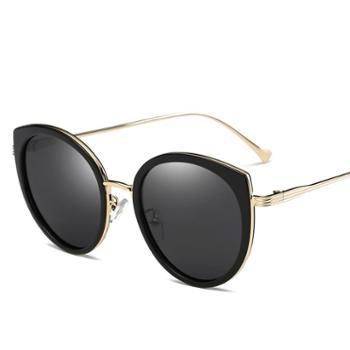 古森太阳镜*男女新款偏光太阳眼镜潮流炫彩墨镜驾驶镜6041复古眼镜