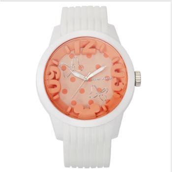 迪士尼手表女学生韩版夜光防水石英表时尚潮流休闲儿童手表