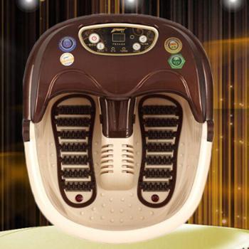 【正品包邮】普立足浴盆 PL-8809 滚轮洗脚盘按摩器泡脚桶电动加热恒温