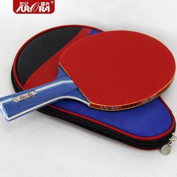 世纪曙光三星乒乓球拍横拍一只