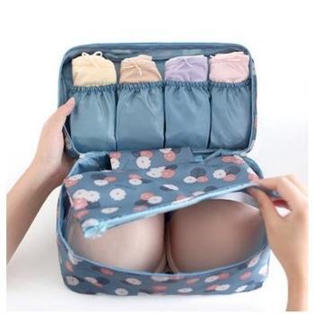 (日常生活用品)户外旅行多功能内衣内裤分类整理收纳包便携文胸收纳袋