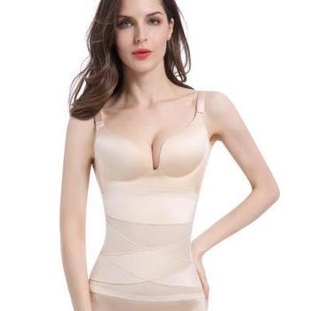 产后收腹带束腰带美体塑身衣腰封束缚束腹瘦腰瘦身带啤酒肚女外贸