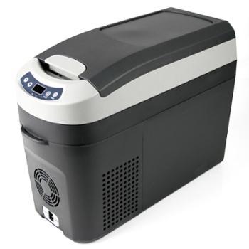精致便捷小冰箱意大利英得尔indelb 速冻车家两用压缩机冰箱 H18 黑色
