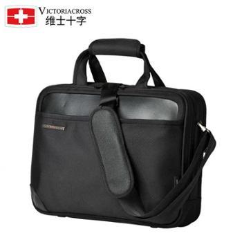 Victoriacross/维士十字男包手提包单肩包斜跨包商务公文包VC3007-3001