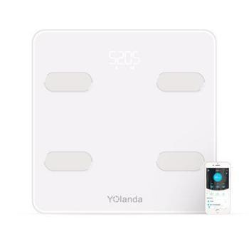 Yolanda智能电子秤脂肪秤精准体重秤电子称家用人体秤体脂秤